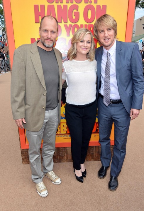Woody Harrelson Owen Wilson And Amy Poehler At Event Of Free Birds Large Picture And Owen Wilson