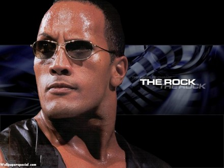 The Rock Wee Wallpaper Superstars